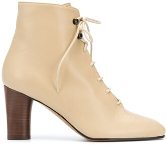 Michel Vivien Klemp lace-up boots