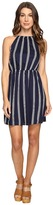 Brigitte Bailey Accolade Stripe Sleeveless Dress Women's Dress