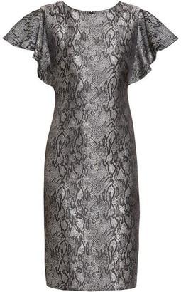 Gina Bacconi Joslyn Jacquard Dress