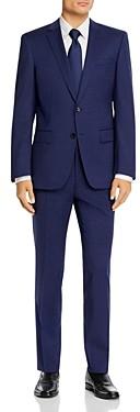 BOSS Huge/Genius Small Tonal Check Slim Fit Suit