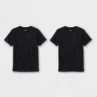 Cat & Jack Boys' 2pk Short Seeve T-Shirt - Cat & JackTM