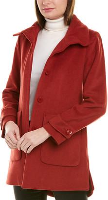 trina Trina Turk Trina By Trina Turk Darcy Wool-Blend Coat