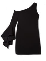 Vince Camuto One-shoulder Bell-sleeve Dress