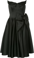 Moschino Sculpted Satin Prom Dress