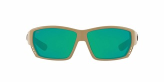 Costa del Mar Men's Tuna Alley 580p Rectangular Sunglasses
