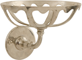 Rejuvenation Classical Nickel-Plated Soap Dish c1925