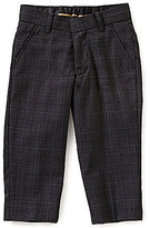 Class Club Gold Label Little Boys 2T-7 Glen Plaid Dress Pants