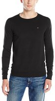 Tommy Hilfiger Men's Original Crew Neck Long Sleeve Sweater
