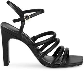 Nine West Laxian Multi-Strap Square Toe Sandals
