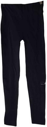 adidas Stella Mc Cartney Pour Black Cloth Trousers for Women