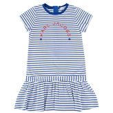 Marc Jacobs Children Girls Striped Jersey Dress