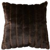 Sable Faux Fur Accent Pillow