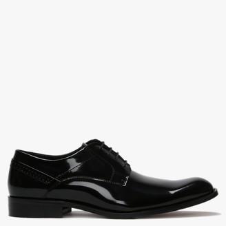 Daniel Dinton Black Patent Leather Smart Lace Up Shoes