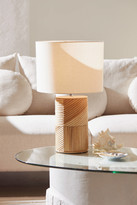 Urban Outfitters Ria Rattan Table Lamp
