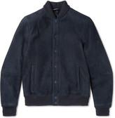 Giorgio Armani - Shearling Bomber Jacket