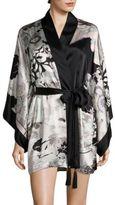 Josie Natori Yuzen Silk Robe