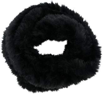 Jocelyn faux-fur snood scarf
