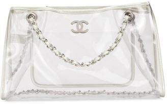 Chanel Pre Owned 2007 CC logo tote bag