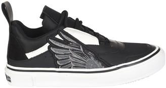 Marcelo Burlon County of Milan Side Wings Vulcanized Sneakers