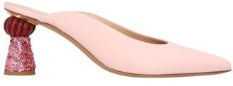 Jacquemus Maceio mules with heels