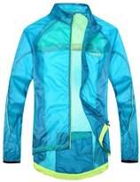 Santic Men's Cycling Rain Coat Jersey Bicycle Windproof Jacket Hooded Skin Coat