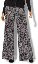 New York & Co. Palazzo Pant - Lace Print
