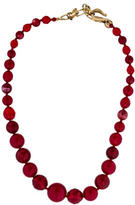 Oscar de la Renta Bead Strand Necklace