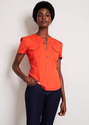 Phase Eight Indie Stud Jersey Top