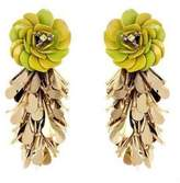 Forest of Chintz Green Cha Hua Earrings