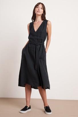 Velvet by Graham & Spencer Harmony Linen Dress