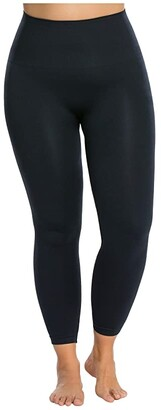 Spanx Look At Me Now Seamless Leggings (Black) Women's Clothing