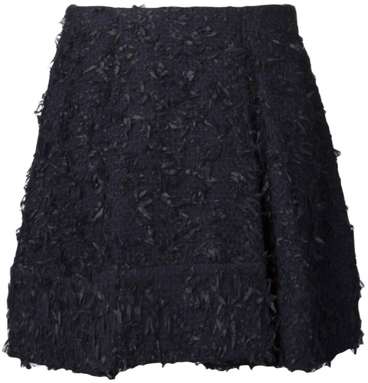 3.1 Phillip Lim eyelash tweed mini skirt