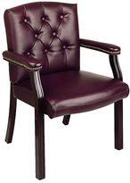 Office star products Office StarTM Products Mahogany Traditional Visitor's Chair
