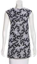 Courreges Woven Sleeveless Top