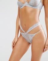Asos Mia Strappy Lace Hipster Bikini Bottom