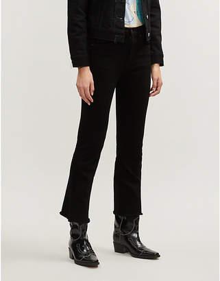 Rag & Bone Crop flare mid-rise jeans