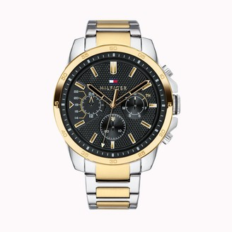 Tommy Hilfiger Watch with Gold-Plated Stainless Steel Bracelet