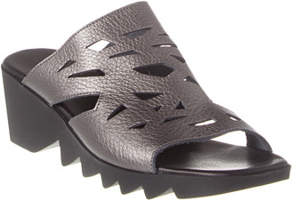 Arche Himara Leather Wedge Sandal