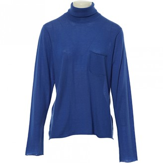 Lucien Pellat-Finet Lucien Pellat Finet Blue Cashmere Knitwear for Women