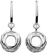 Kit Heath Sterling Silver Nest Drop Earrings, Silver
