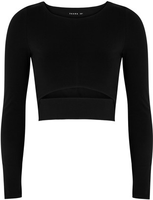 Vaara Scarlett Eco Black Cropped Top