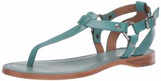 Frye Women's Rachel Ring T Strap Flat Sandal