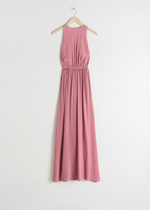 And other stories Semi Sheer Maxi Dress