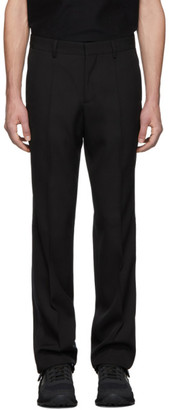 Burberry SSENSE Exclusive Black Wool Tailored Trousers