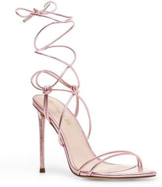 Steve Madden Badgirl Ankle Wrap Stiletto Sandal