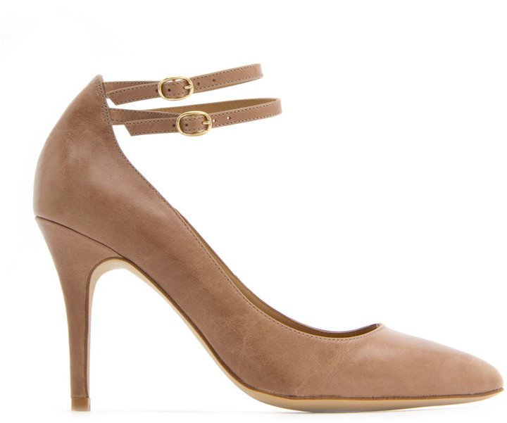 MANGO TOUCH - Twin ankle strap pump