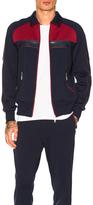 Junya Watanabe Polyester Zip Jacket in Blue,Red.