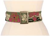 Prana Embroidered Wool Belt