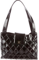 Chanel Quilted Vinyl Tote
