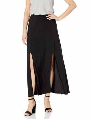 Star Vixen Women's Double Slit Car Wash Maxi Skirt